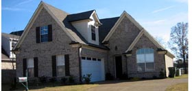 European , Country House Plan 47586 with 3 Beds, 3 Baths, 2 Car Garage Elevation