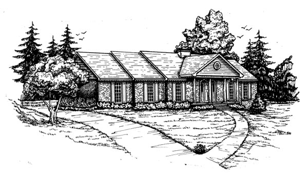 Traditional Elevation of Plan 47761