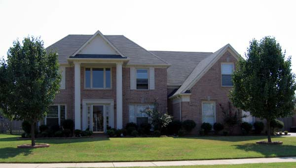 Traditional House Plan 47919 with 4 Beds, 3 Baths, 2 Car Garage Picture 2