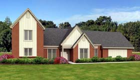 House Plan 47934 | Traditional Style Plan with 2969 Sq Ft, 3 Bedrooms, 3 Bathrooms, 2 Car Garage Elevation