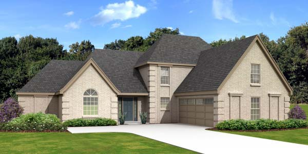 Colonial House Plan 47938 Elevation