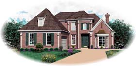 Traditional House Plan 47939 Elevation