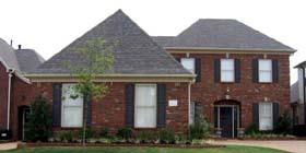 European Traditional House Plan 47945 Elevation