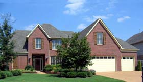 House Plan 47948 | European Traditional Style Plan with 3627 Sq Ft, 4 Bedrooms, 4 Bathrooms, 3 Car Garage Elevation