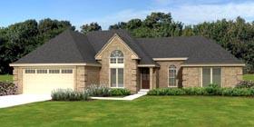 European Traditional House Plan 47962 Elevation