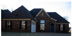 European , Country House Plan 47966 with 3 Beds, 2 Baths, 2 Car Garage Elevation