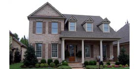 Traditional House Plan 47972 with 4 Beds, 3 Baths, 2 Car Garage Elevation