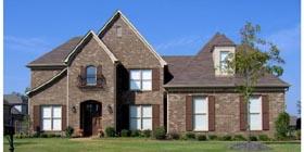 European Traditional House Plan 47983 Elevation
