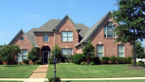 European Traditional House Plan 47985 Elevation