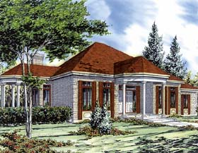 Bungalow House Plan 48004 Elevation