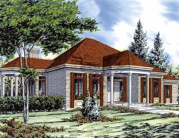 Bungalow House Plan 48004 Elevation
