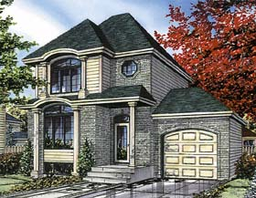 Bungalow House Plan 48006 Elevation