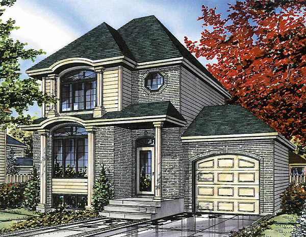 Bungalow House Plan 48006 Elevation