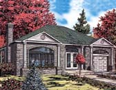 Plan Number 48007 - 1282 Square Feet