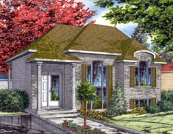 Bungalow House Plan 48011 Elevation