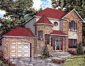 Plan Number 48012 - 1360 Square Feet