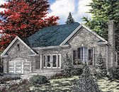 Plan Number 48021 - 1311 Square Feet