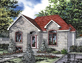 Plan Number 48022 - 997 Square Feet