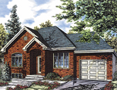 Plan Number 48026 - 1287 Square Feet