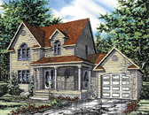 Plan Number 48028 - 1376 Square Feet