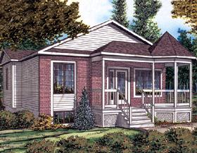 Bungalow House Plan 48030 Elevation