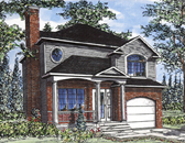 Plan Number 48037 - 1371 Square Feet