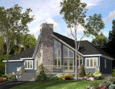 Plan Number 48040 - 1501 Square Feet