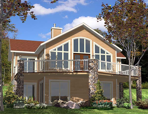 Country Southern House Plan 48041 Elevation