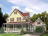 Plan Number 48049 - 1461 Square Feet