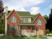 Plan Number 48051 - 1460 Square Feet