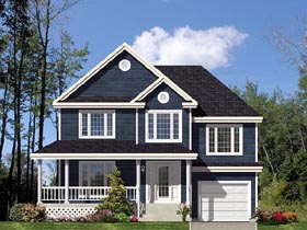 Country European House Plan 48064 Elevation