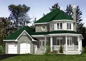 Plan Number 48082 - 1818 Square Feet