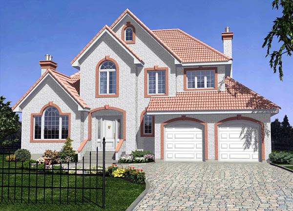 Florida House Plan 48094 Elevation