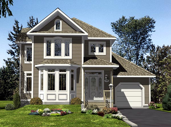 Traditional House Plan 48096 Elevation