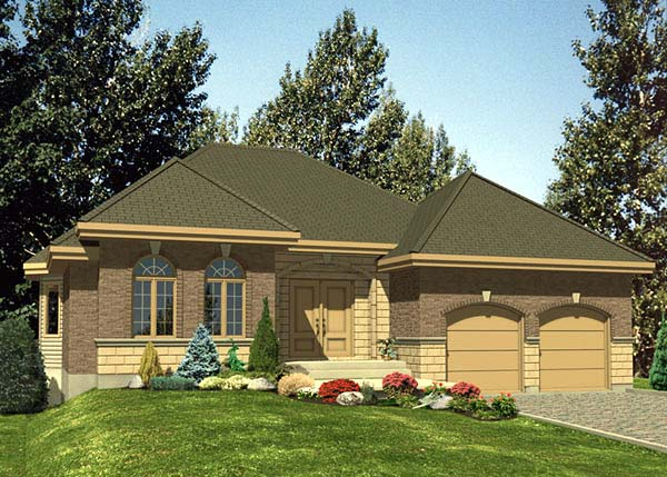 Traditional House Plan 48103 Elevation