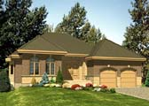 Plan Number 48103 - 1545 Square Feet