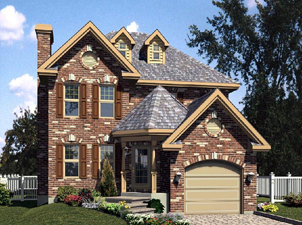 Traditional House Plan 48110 Elevation
