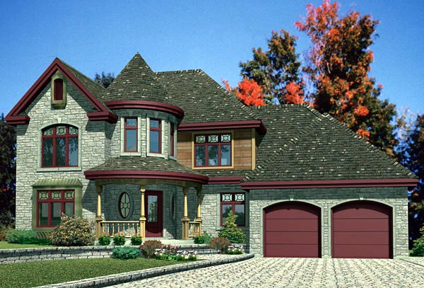 Victorian House Plan 48111 Elevation