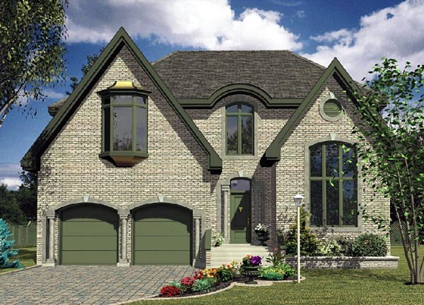 Traditional House Plan 48115 Elevation