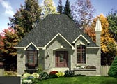 Plan Number 48123 - 1008 Square Feet