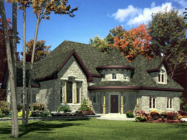 Victorian House Plan 48126 Elevation