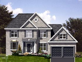 Traditional House Plan 48134 Elevation