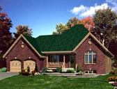 Plan Number 48143 - 1508 Square Feet