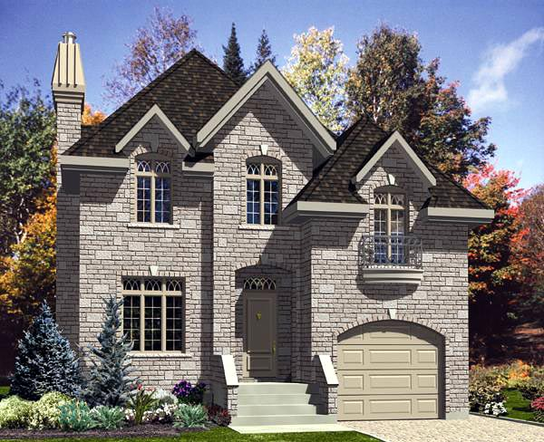 Victorian House Plan 48149 Elevation