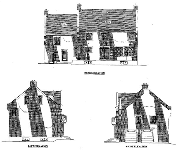 Victorian House Plan 48162 Rear Elevation