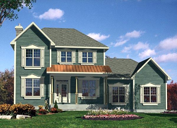 Farmhouse House Plan 48170 Elevation
