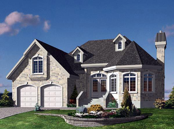 Victorian House Plan 48172 Elevation