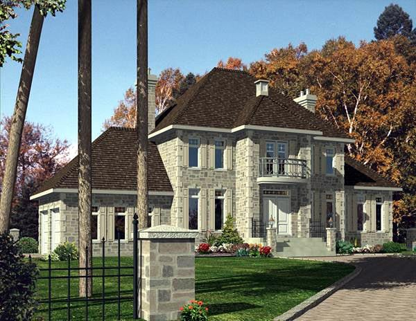 Contemporary House Plan 48178 Elevation
