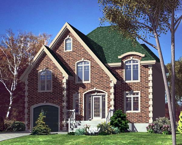 Victorian House Plan 48181 Elevation