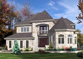 Victorian House Plan 48202 Elevation